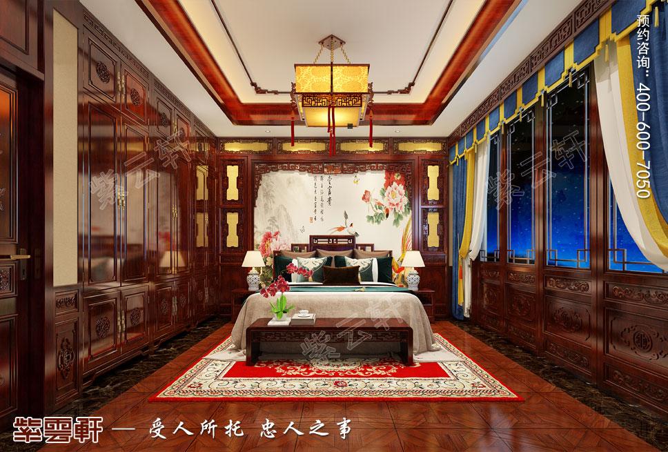 如诗如画的中式卧室