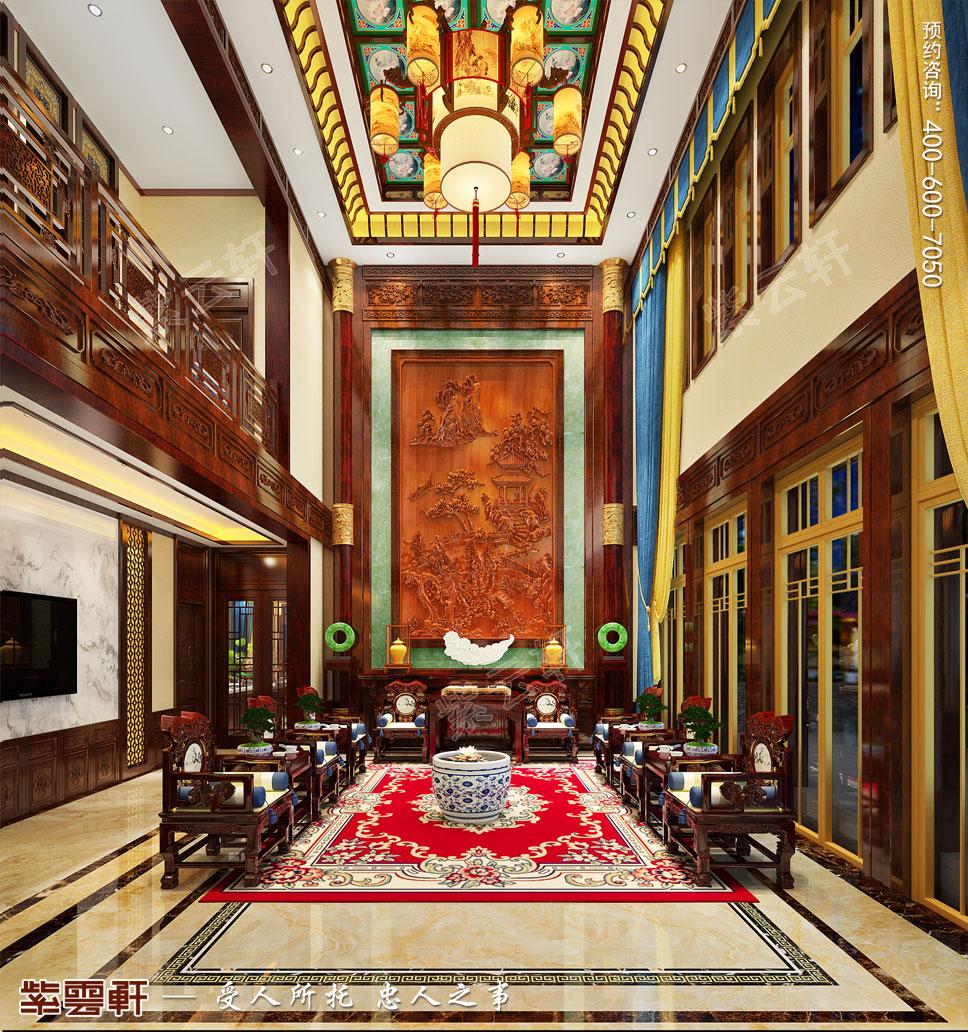 大气古典挑高客厅