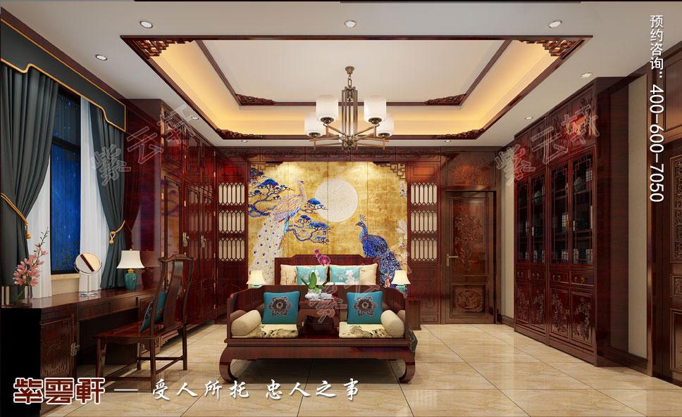 福禄寿喜中式卧室