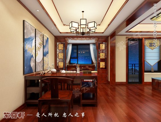 卧室暖阁中式装修设计