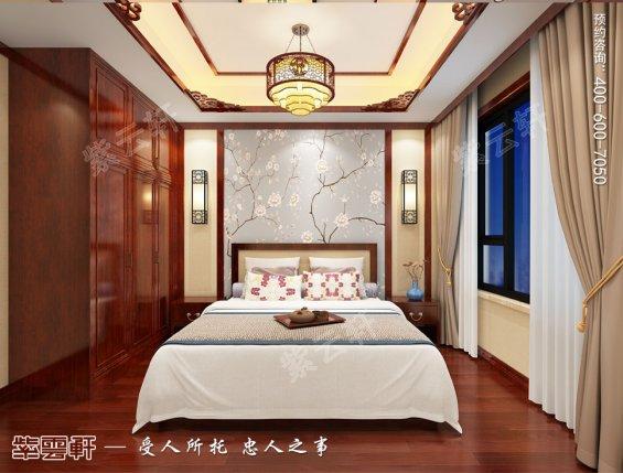 老年人卧室中式装修风格