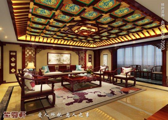 中式客厅设计,中式客厅装修效果图