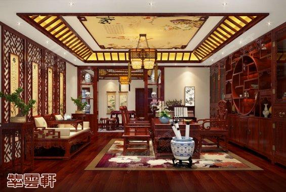 中式书房,中式书房效果图