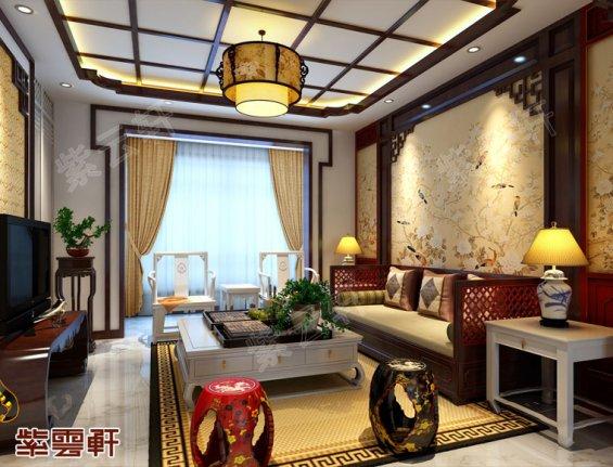 简中式客厅装修,简中式客厅装修效果图