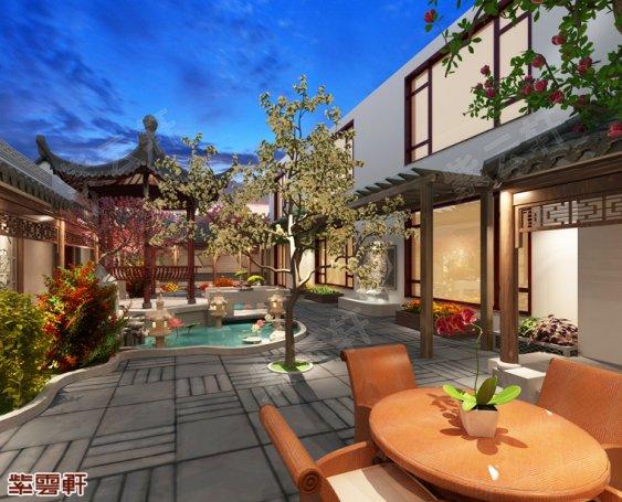 庭院中式装修,庭院中式装修设计图