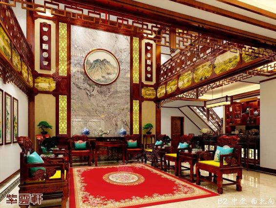 中式中堂,中堂装修效果图