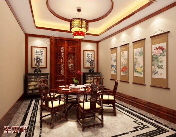 餐厅中式装修,餐厅中式装修效果图