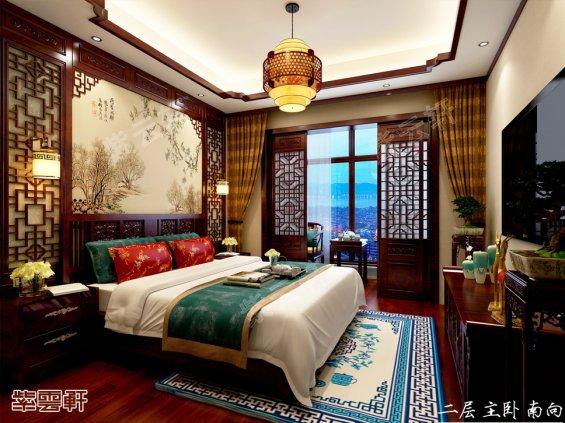 中式卧室,中式装修卧室