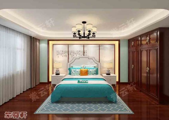 中式四合院卧室