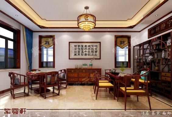 茶室装修,中式茶室装修