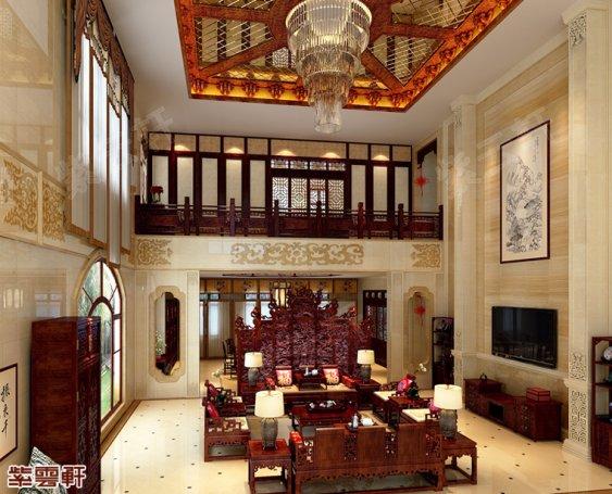 中式客厅设计,中式客厅设计效果图