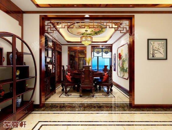 中式餐厅装修,中式餐厅装修效果图