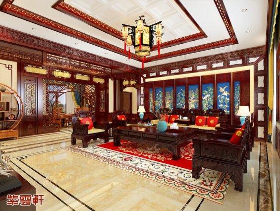中式客厅设计,中式客厅设计图片