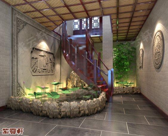 中式庭院,庭院效果图