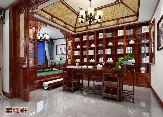 新中式书房装修,新中式书房装修效果图