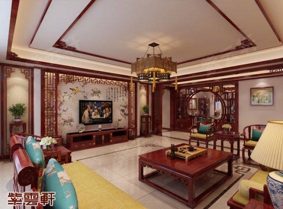 客厅装修效果图,中式客厅图片