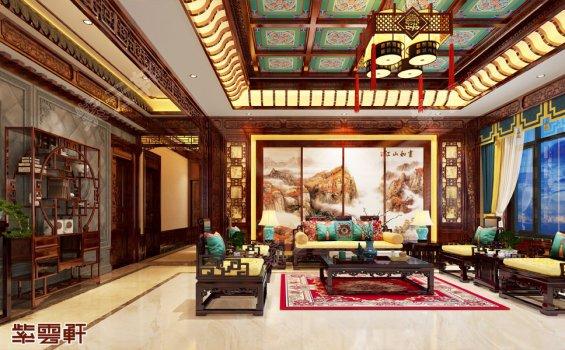 客厅装修效果图,中式客厅