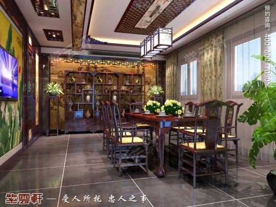 中式设计,餐厅中式设计效果图