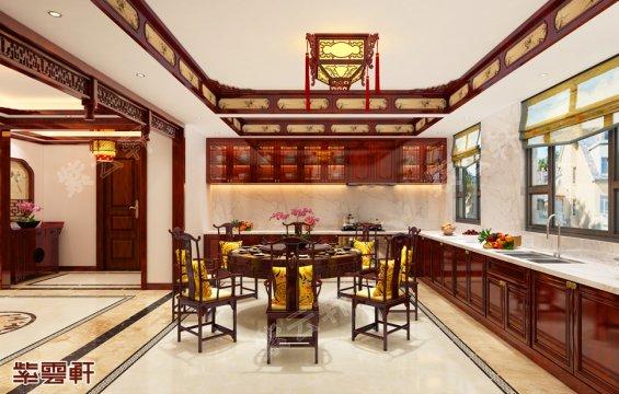 中式设计,中式餐厅效果图