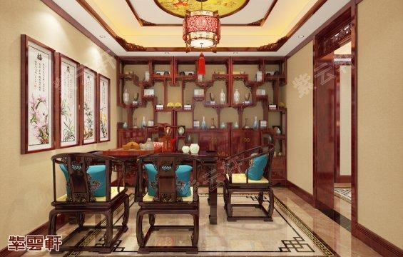 中式茶室,中式茶室效果图