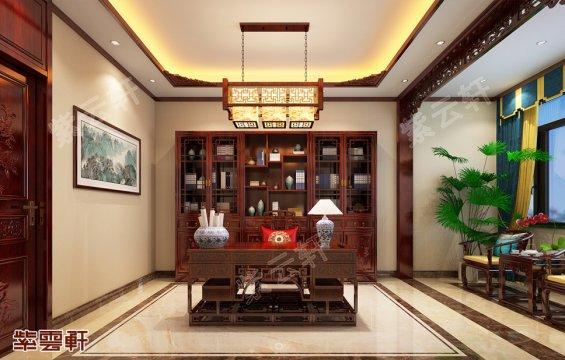 中式装修书房,中式书房设计图