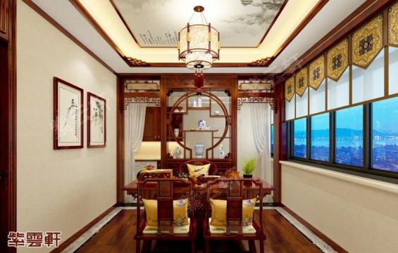 中式茶室,茶室中式装修效果图片