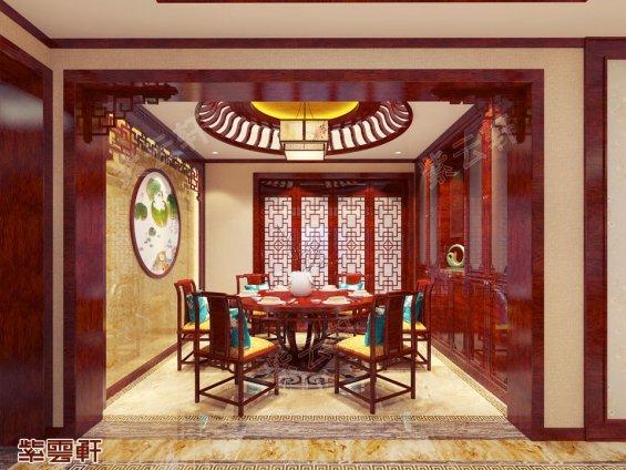 餐厅装修效果图,中式装修