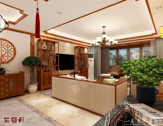 中式设计,中式装修风格客厅