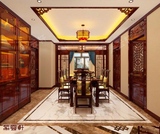 餐厅中式装修风格图片