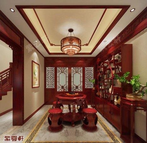茶室装修风格效果图,中式装修