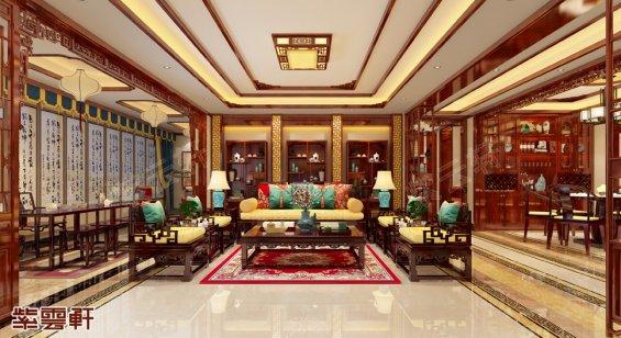 客厅中式装修风格