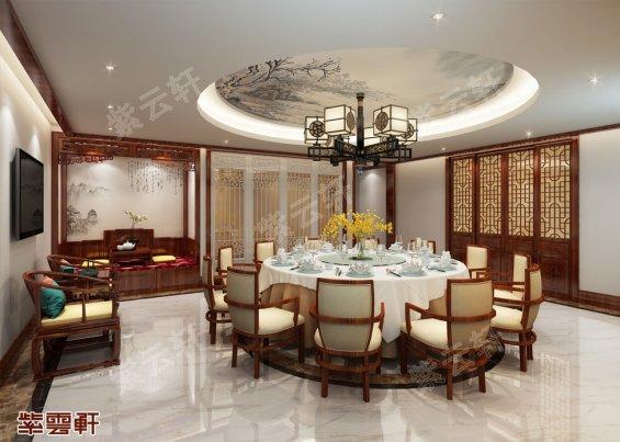 餐厅中式装修风格