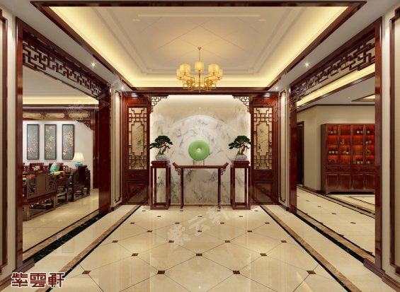 门厅中式装修效果图
