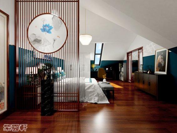 卧室中式设计,中式装修风格
