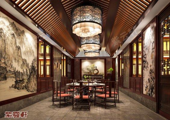 中式装修设计餐厅