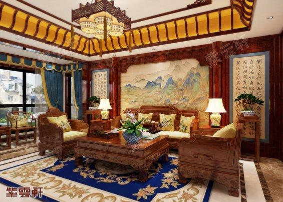 中式装修风格客厅