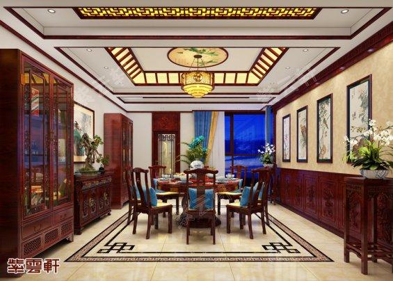 餐厅中式装修设计图片