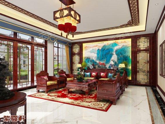 客厅中式装修效果图片大全
