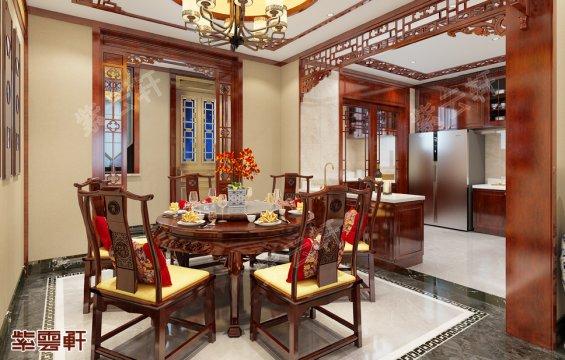 餐厅装修效果图,中式装修风格