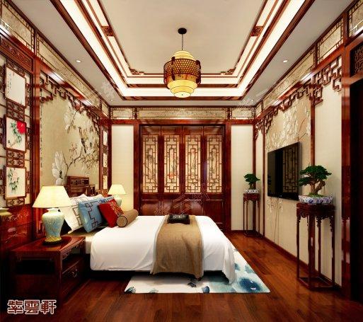 卧室装修效果图,中式装修设计